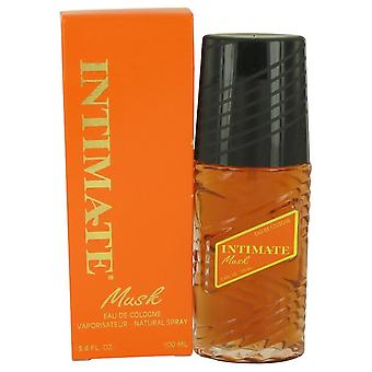 Intimate Musk Eau De Cologne Natural Spray By Jean Philippe 106 ml