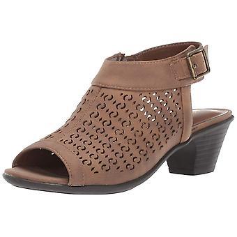 Easy Street Womens Jill Peep Toe Casual Slingback Sandals