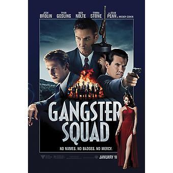 ملصق فرقة العصابات مزدوجة من جانب التقدم (2013) ملصق السينما الأصلي