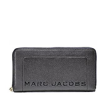 Marc Jacobs Logo Standard Continental Leather Wallet