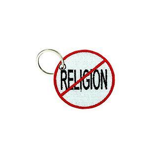 Cle Cles Key Brode Patch Ecusson Biker Biker Morale No Religion