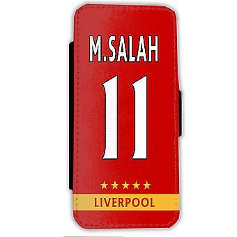 Samsung S9 Salah geval-Liverpool mobiele portemonnee