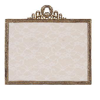 Clayre et et Eef romantique orné orné bijoux en métal stand dans le style vintage Shabby environ 25x23 cm
