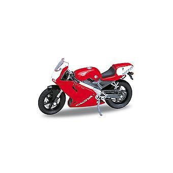Welly  Model  Cagiva Mito 125  Motorbike       1:18