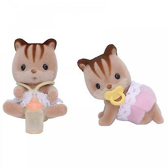 Sylvanian Families  5081 Walnut Squirrel Twins