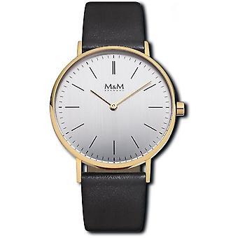 M & M Tyskland M11892-432 grundläggande 36 damer klocka