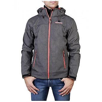 Geographical Norway - Clothing - Jackets - Twixer_man_dgrey_orange - Men - dimgray,orangered - XXL
