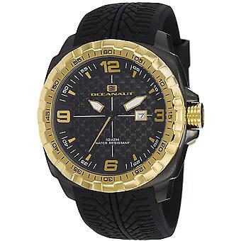 Oceanaut Men's Racer Black Dial Watch - OC1112