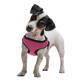 Large Pink Soft'n'Safe Dog Harness