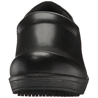 Dr. Scholl's Womens Dynamo Leather Cap Toe Clogs