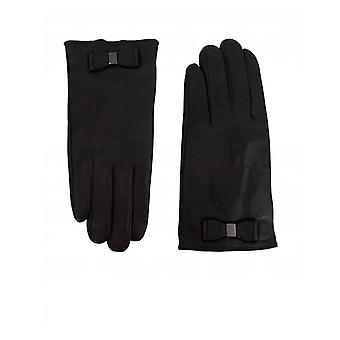 Ted Baker Leather Bow Gloves