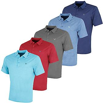 Callaway Golf Mens Heathered Polo Shirt