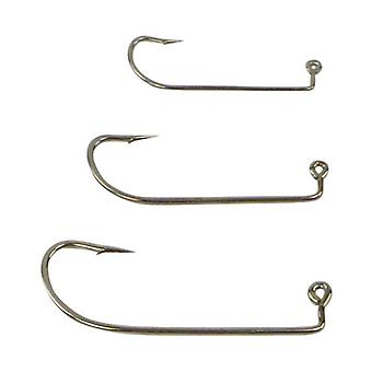 Swimerz Offset Shank Jig Hook O Shaunessy Style Nickel Value Pack 25