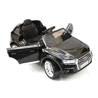 Children's electric car Audi Q7 S-Line, EVA tyres, leather seat, shock absorber, soft start