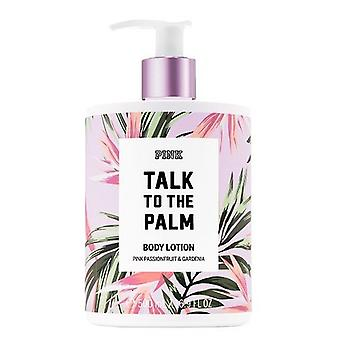 (2 Pack) Victoria's Secret Pink Talk To The Palm Body Lotion 16.9 oz/500 ml