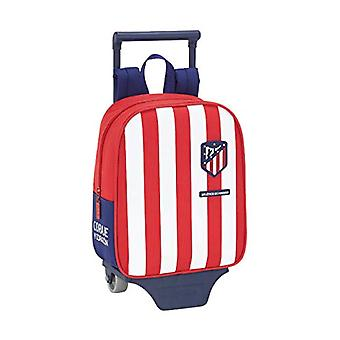 Asylum backpack of the'Atletico Madrid official with Safta trolley - 220 x 100 x 270 mm