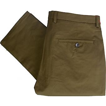 Hugo Boss Helgo 1 Slim Fit Green Khaki Trouser