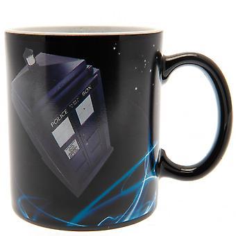 Doctor Who Tardis Heat Changing Mug