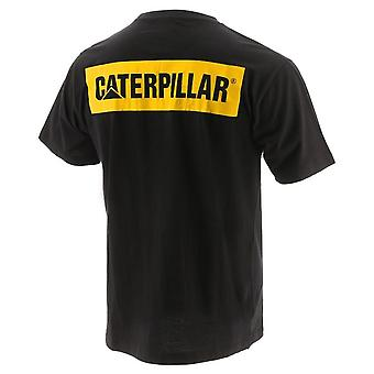 Caterpillar Mens Icon Block Lyhythihainen T-paita