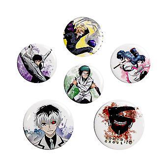 Tokio Ghoul:re, 6x Pins
