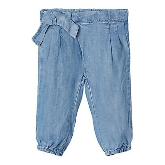 Name-it Girls Newborn Jeans Pants Rie Light Blue