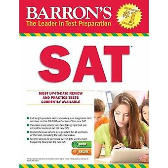 Barrons SAT with Online Tests by Sharon Green & Ira K Wolf