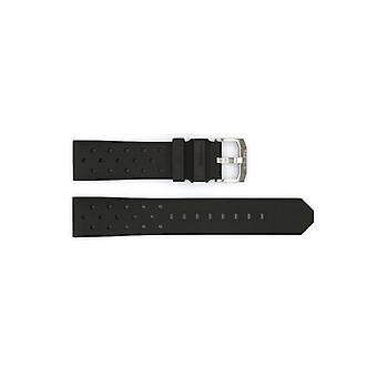 Authentic tag heuer watch strap rubber 19mm bt0725