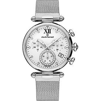 Claude Bernard - Wristwatch - Women - Dress code Chronograph - 10216 3 APN1