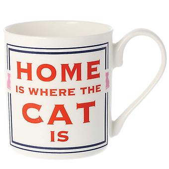 Cammy Thomson Home Is Where The Cat Is Mug