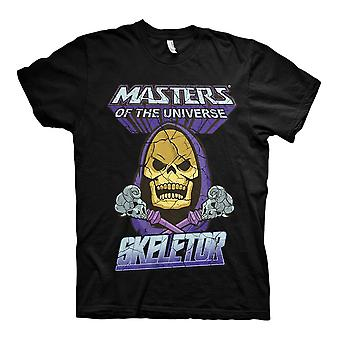 Men's Masters of the Universe Skeletor Crew Neck Black T-Shirt