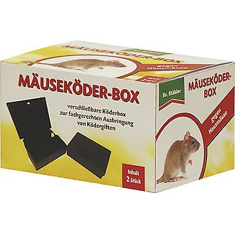 DR. STÄHLER Ratzia Mice Bait Box, 2 pieces