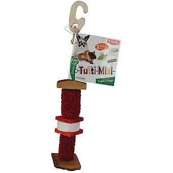 Tyrol Hängende Gnaw & Mineral Tutti Mixi (Kleine Tiere , Spielzeug)