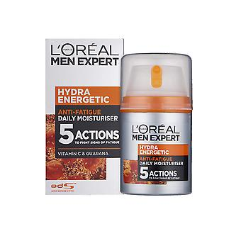 L'Oreal Men Expert Anti Fatigue Moisturise Lotion 50ml Hydra Energetic