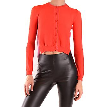 Pinko Ezbc056297 Kvinder's Rød bomuldsweater