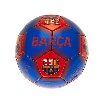 نادي برشلونة وقع على مهارة كرة القدم