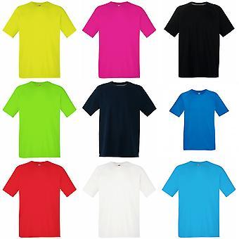 Frukten av veven Mens ytelse sportsklær t-skjorte