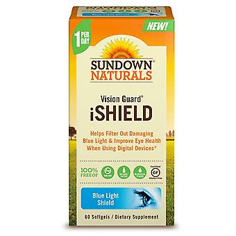 Vision de naturals Sundown garde ishield, gélules, ea 60