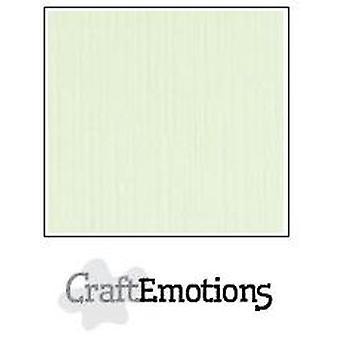 CraftEmotions linen cardboard 100 Sh light green Bulk LHC-34 A4 250gr