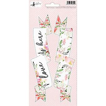 Piatek13 - Folha de adesivoS Party Love in Bloom 03 P13-313 10.5x23 cm