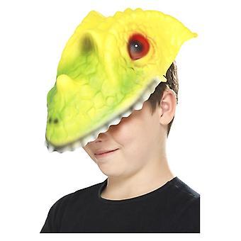 Childrens Krokodil Kopf Gesicht Maske Kostüm Zubehör