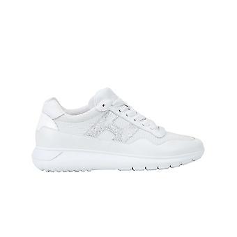 Hogan Hxw3710ap31n0s0351 Women's White Leather Sneakers