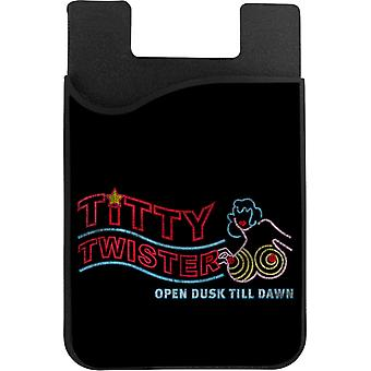 From Dusk Till Dawn Titty Twister Sign Phone Card Holder