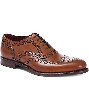 Loake Mens Kerridge Bred Passform Läder Oxford Brogues