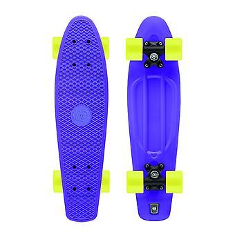 Xootz Kid Retro Kunststoff Cruiser Skateboard lila 22-Zoll