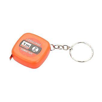 Nyckelring / Nyckelknippa Med Måttband (Orange)