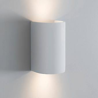 Jardin Trading Stanton Doubled White Plaster Wall Light