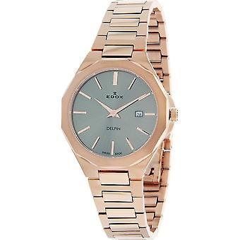 Edox - Armbanduhr - Damen - 57005 37RM GIR - Delfin