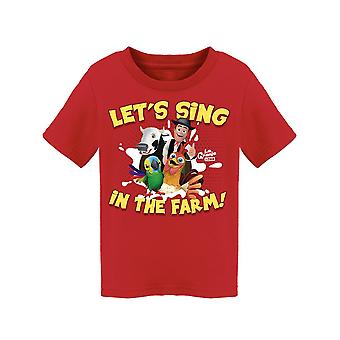 The Children's Kingdom Let's Sing In The Farm Toddler's T-shirt