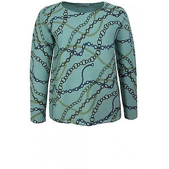 Bianca Chain Design Knit Jumper