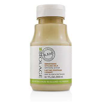 Biolage r.a.w. smoothing styling milk 222781 200ml/6.7oz